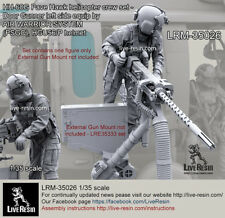 Live Resin 1/35 HH-60G Pave Hawk Helicopter Crew - Left Door Gunner