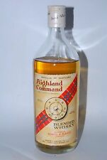 WHISKY HIGHLAND COMMAND BLENDED SCOTCH WHISKY  AÑOS 70 75cl.