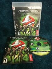 GHOSTBUSTERS THE VIDEO GAME (Sony PlayStation 3) PS3 GAME COMPLETE w/MANUAL CIB