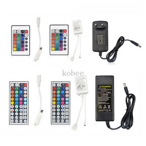 12V 3A 5A Power Supply RGB Remoter for 5050 3528 LED Strip LED driver Lighting
