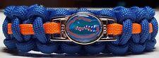 Florida Gators; UFL Handmade Paracord Bracelet or Lanyard or Deluxe Key Chain