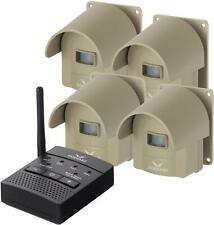 Driveway Wireless Alarm Alert System 1/4 Mile Security Motion Sensor Portable