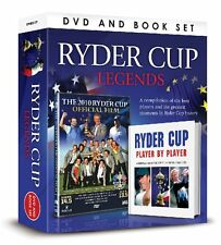 Greatest Moments RYDER CUP LEGENDS Player By Player DVD BOOK GIFT SET NEW