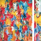 "32W""x40H"" FALSE START by JASPER JOHNS - USA STENCIL AMERICA - CHOICES of CANVAS"