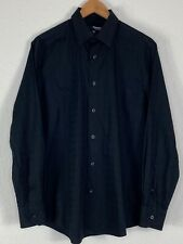 Murano Liquid cotton Long-Sleeve Woven Shirt SIZE (M)