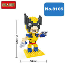 Hsanhe Super Hero X-Men Wolverine Diamond Nano Blocks Brick Mini Building Toy