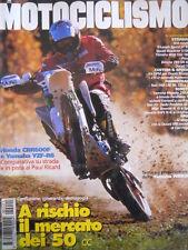 MOTOCICLISMO n°1 1999 Honda CBR 600 F Yamaha YZF-R6 Bimota YB9 SRi [P32]