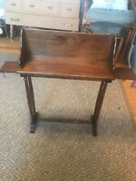 Vintage mid century modern Brandt furniture manufacturing 7249 small table. Rare