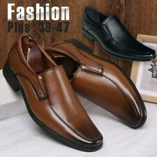Men's Leisure Oxfords Wedding Leather Shoes Pointed Toe Formal Office Work Shoes