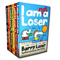 Barry Loser Collection Jim Smith 6 Books Set I am so over being loser, etc
