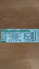 Foo Fighters 2008 Concert Ticket - Izod Center - East Rutherford, New Jersey