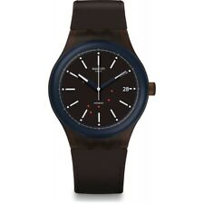 New Swatch Sistem51 Sistem Fudge Silicone Automatic Mens Swiss Watch SUTC401