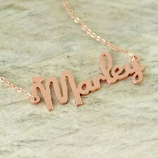 Personalized Rose Gold Jewelry Name Necklace Graduation Gift Wedding gift ForHer