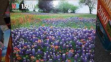 "York ""Hill Country, Texas"""" 1500 piece 24"" x 31"" puzzle Milton Bradley 1992"