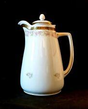 HERMANN OHME  Mint Cond. Silesia Hand Painted Chocolate/Coffee/Tea Pot 1892-1918