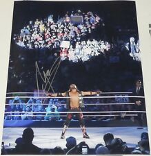 Aj Styles Signed 16x20 Photo Bas Beckett Coa Wwe Money in the Bank Picture Mitb