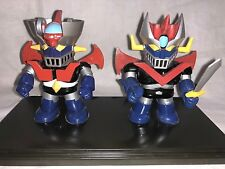 2 Action Figures Super Robot Wars Deformed MAZINGA + MAZINGA Z ~ MAZINGER Nagai