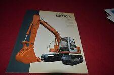Hitachi Super EX110-V Excavator Dealer's Brochure DCPA6