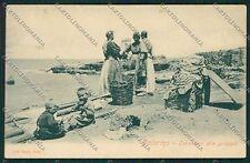 Palermo Costumi Siciliani cartolina QQ0863