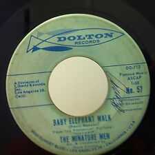 THE MINATURE MEN Baby Elephant Walk / Bool-Ya-Base 45 on DOLTON VG