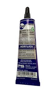IPS Weld-On #16 Plastic Glue Cement for Acrylic / Plexiglass - 1.5 oz. Tube