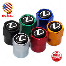 Hex Lexus Logo Emblem Car Suv Wheels Tire Air Valve Caps Stem Dust Cover F Sport