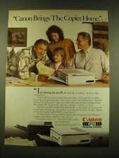 1990 Canon PC-1 Personal Copier Ad - Jack Klugman - Canon brings the Copier
