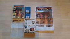 Indiana Jones Fate of Atlantis Amiga Games Spiele Sammlung Commodore 1000 Poster