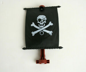 Matchbox Replacement Medium Flag from Pirate Ship Mega Rig Building System