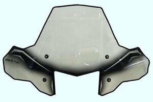 PowerMadd 24570 ProTEK Windshield for ATV Standard Mount Clear w/ black graphics