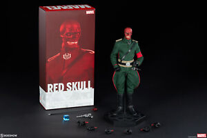 RED SKULL 1/6 Sixth Scale Figure Sideshow Collectibles Collector Edition Marvel