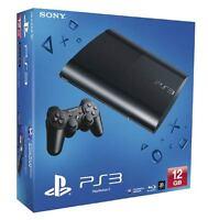 SONY 12GB Black Super Slim PS3 Console + FIFA 14 PAL AUS ED *NEW* + Warranty!!!