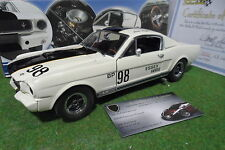 FORD  SHELBY GT 350 ESSEX WIRE 1965 R- MODEL RICK KOPEC 1/18 EXACT DETAIL WCC110