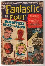 Marvel Comics G+ 2.5   FANTASTIC FOUR  #7 Wanted dead or alive