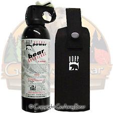 UDAP 13.4 oz Super Magnum Bear Spray w/ Holster 18HP ..