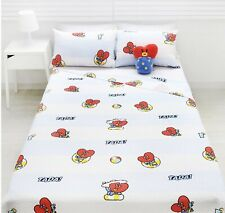 BTS Character BT21 Ripple Blanket Bedding Summer Edition 157x185cm TATA V