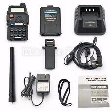 Handheld Radio Scanner 2-Way Digital Transceiver Portable Antenna Police EMS HAM