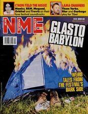 Glastonbury 1999 Orbital Mogwai Manic Street Preachers Ultrasound Travis NME mag