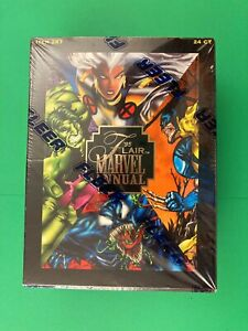1995 Marvel Flair Annual Factory Sealed 24 Ct.