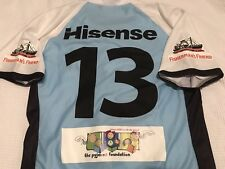 Cronulla Sharks Gallen Signed Game  Players Jersey Issue 2012 V Warriors