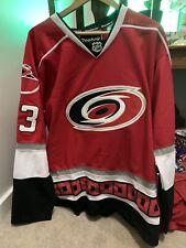 Jeff Skinner carolina hurricanes jersey ccm reebok size 52