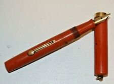 Vintage WATERMAN´S IDEAL 52V Ring Top Orange/ Gold Fountain Pen
