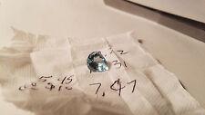 AAA 1.6 Carat Santa Maria Blue Pear Shaped Aquamarine: Excellent Clarity