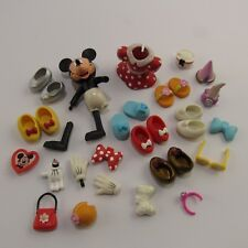 Minnie Mouse Dress Up Lot Assorted Collection Shoes Accessories Parts