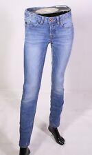 GJ9-176 Esprit Skin Fit Low Waist Damen Jeans W25 L32 blau Stretch slim fit