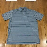 PETER MILLAR XL SUMMER COMFORT GOLF POLO SHIRT STRIPED XL