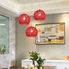Kitchen Pendant Lighting Bar LED Ceiling Lights Modern Chandelier Red Hotel Lamp