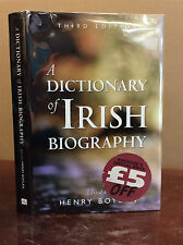 A DICTIONARY OF IRISH BIOGRAPHY: THIRD EDITION By Henry Boylan - 1998, Ireland