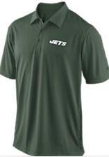 Nwt Nike Men's OnField Polo Shirt New York Jets DriFit Green Sz Small