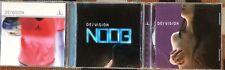 De/vision -  3 CD Lot Synthpop goth devision de vision